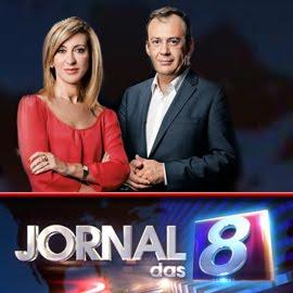 Jornal das 8 Judite de Sousa José Alberto Carvalho
