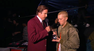 Eminem recebeu os prémios «Global Icon» e «Best Hip Hop»