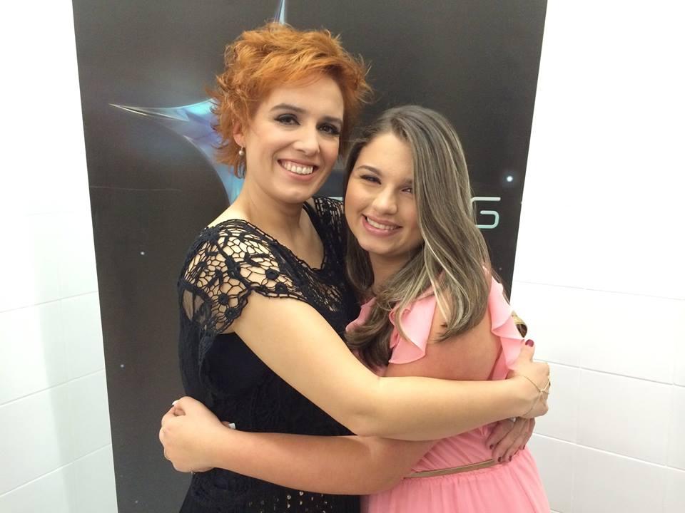 Daniela Costa e Ana Benevides