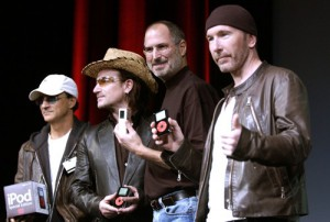 Apresentação do «iPod U2»