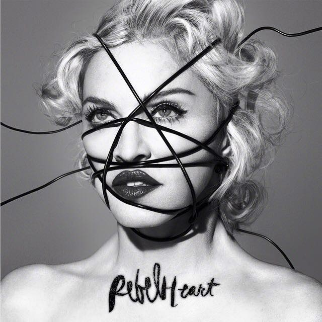 Capa do novo álbum de Madonna