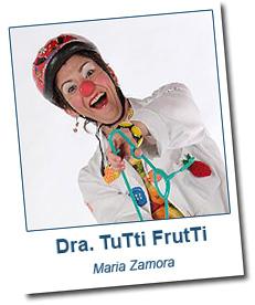 Maria Zamora Doutora Tutti Frutti