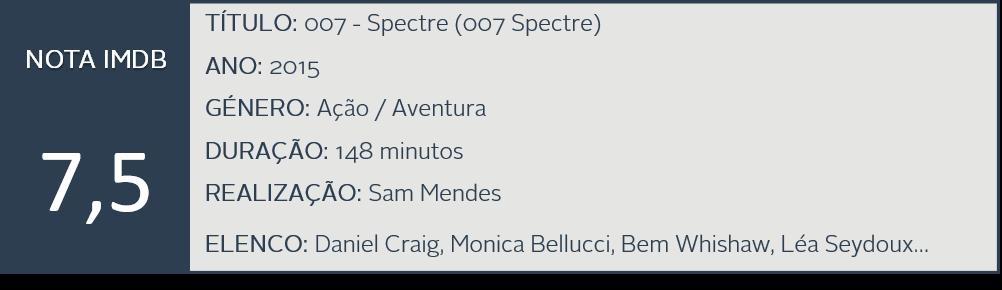 K Filme - Spectre