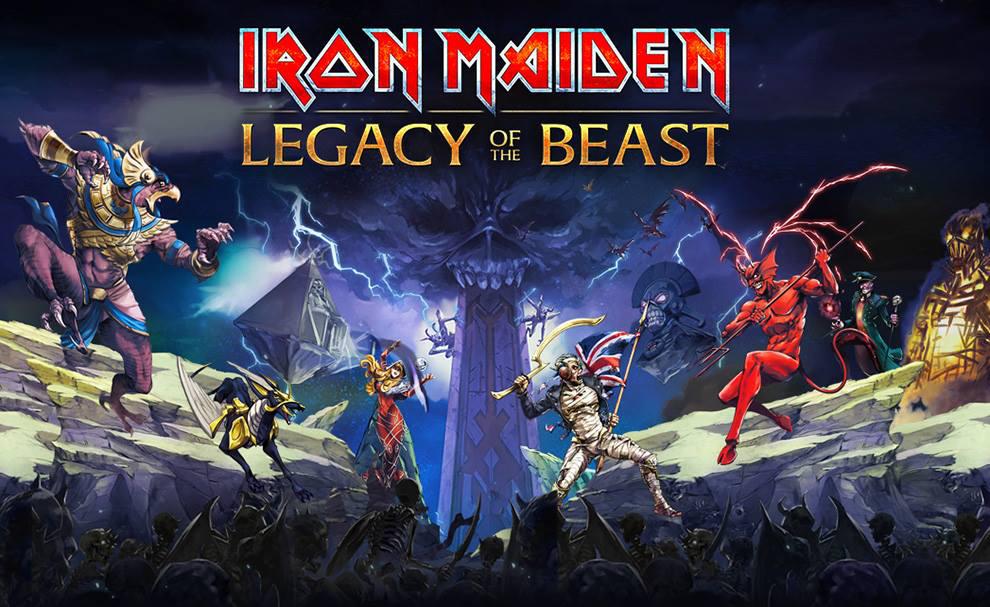 Iron Maiden anunciam videojogo baseado na banda