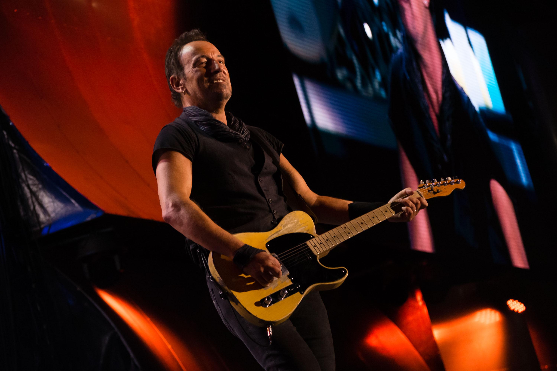 Rock in Rio - Lisboa 2016:Bruce Springsteen no Palco Mundo na Cidade do Rock no Parque da Belavista em Lisboa, Portugal a 19 de Maio de 2016. Foto: AgencioZero.net