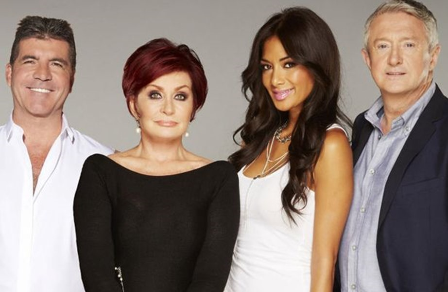 The X Factor: Sharon Osbourne, Louis Walsh, Simon Cowell e Nicole Scherzinger