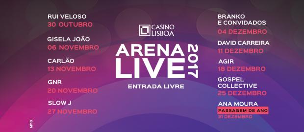 Arena Live 2017 Casino Lisboa