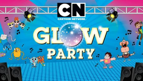Cartoon Network Glow Party