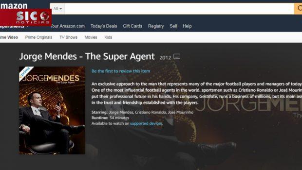 Amazon Prime SIC - Jorge Mendes