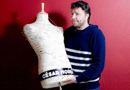 César Mourão sobre cenário inclinado de «Vale Tudo»: «o objectivo é cair»