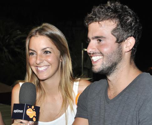 Jessica Athayde e João Manzarra: o amor está no ar