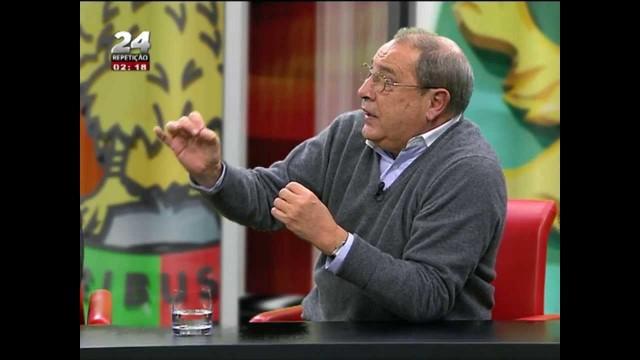 Vídeo do dia: Eduardo Barroso chama «gordo» a Manuel Serrão no TVI24