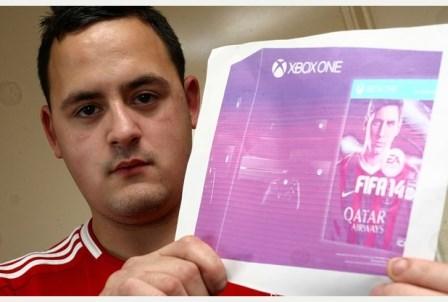 Final Feliz para rapaz que pagou 540€ por fotografia de Xbox One