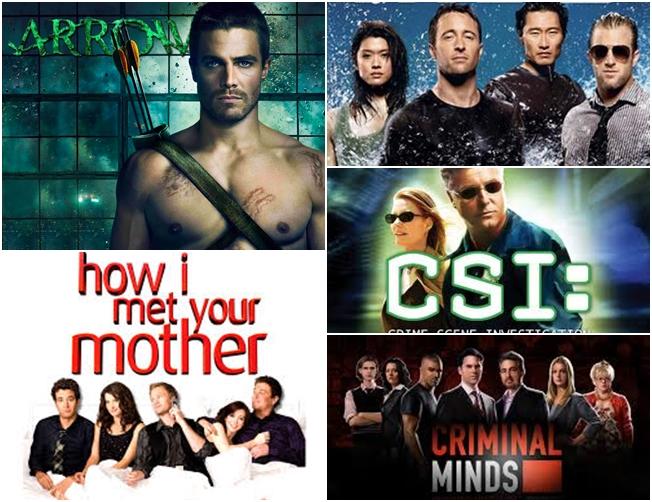 Descubra quais as séries preferidas do sexo feminino e masculino