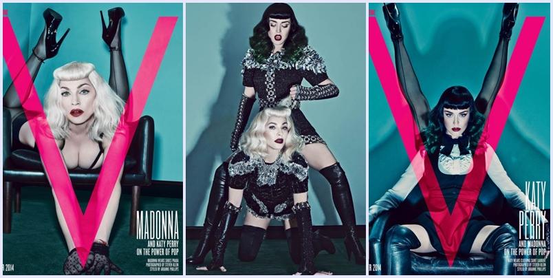 Madonna e katy Perry