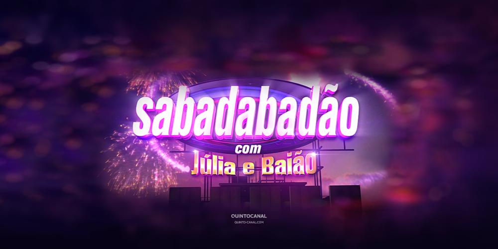 Conheça os convidados do próximo «Sabadabadão»