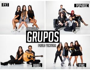 Categoria «Grupos» | Foto: Facebook oficial do «Factor X»