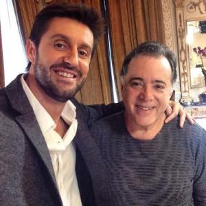Daniel Oliveira e Tony Ramos