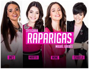 Categoria «Raparigas» | Foto: «Factor X»