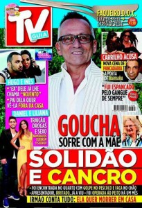Capa da revista «TV Guia» desta semana