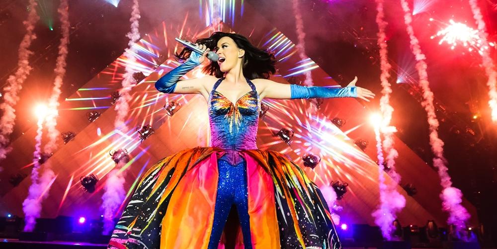 Katy Perry irá gravar o seu primeiro DVD ao vivo com a «Prismatic World Tour»