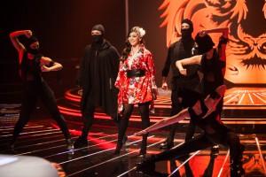 Atuação na primeira gala ao vivo do «Factor X»