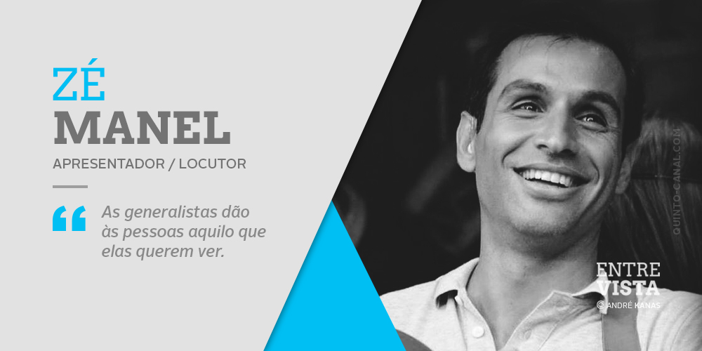 Entrevista – Zé Manel (com vídeo)