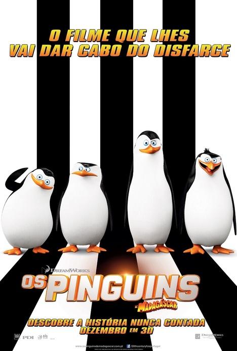 Pinguins do madagáscar