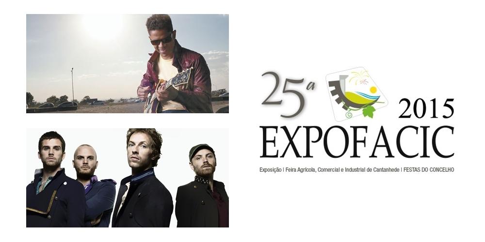 Natiruts marcam presença na «Expofacic 2015», e Coldplay fora do cartaz