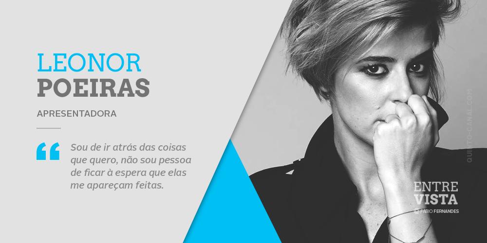 Entrevista – Leonor Poeiras