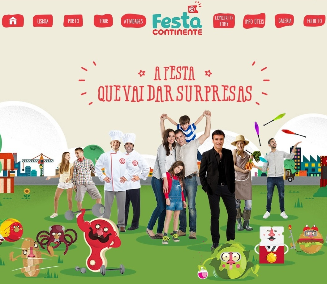 «Mega Pic-Nic» dá lugar à «Festa Continente» e vai percorrer o país