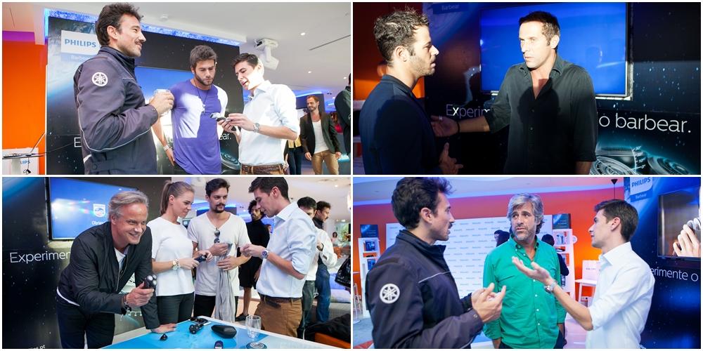 Philips junta personalidades famosas em evento especial