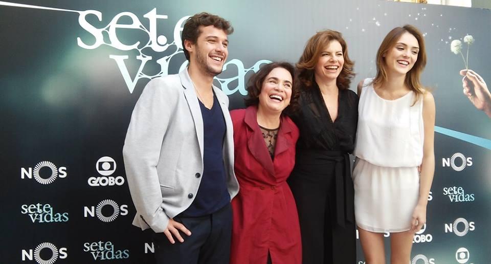 «Sete Vidas» apresentada em Portugal com presença do elenco