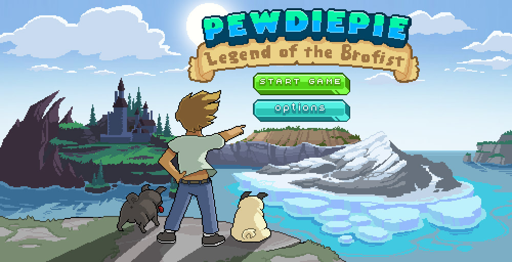 Jogo de PewDiePie para plataformas móveis já está disponível
