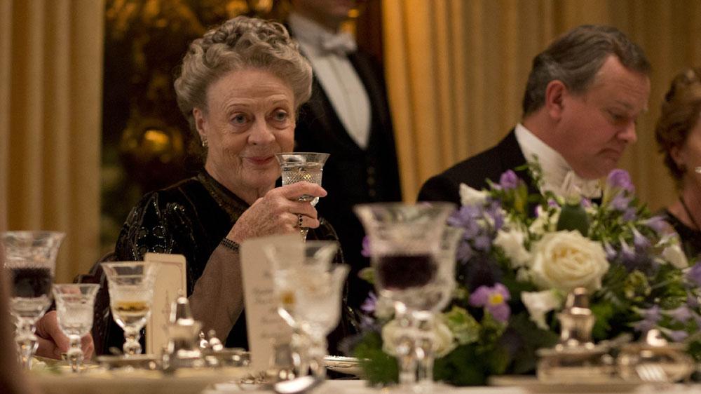 «Downtown Abbey»: Da televisão para o cinema com Maggie Smith
