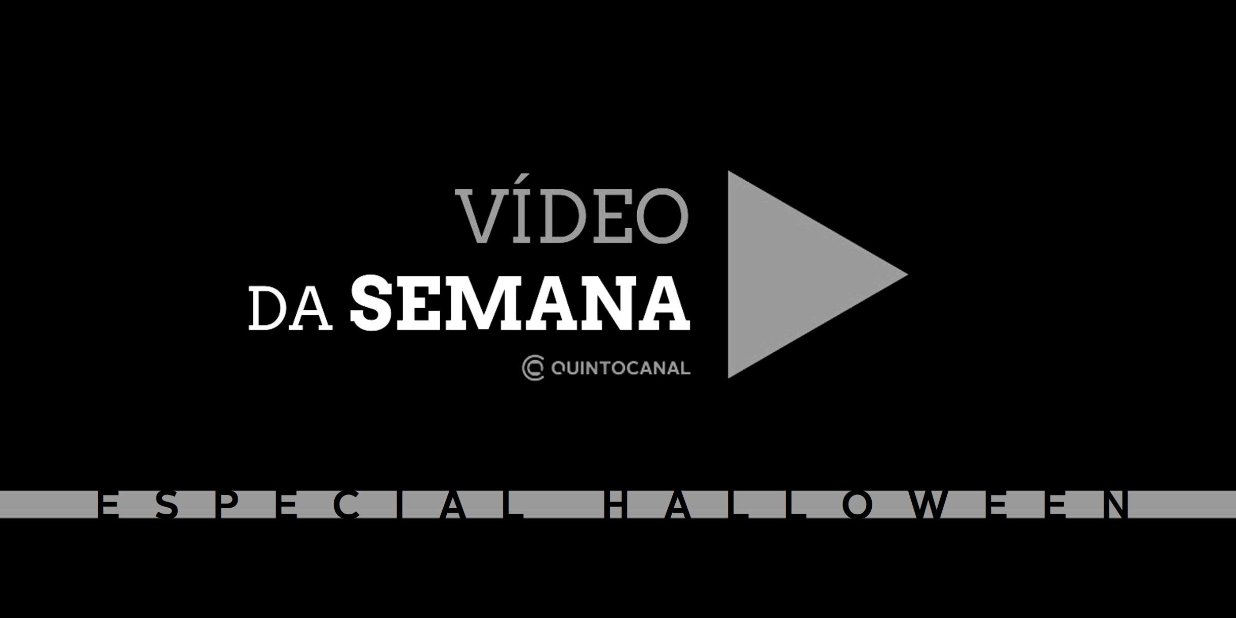 Vídeo da Semana –  Especial «Halloween»: E você? Teria coragem?