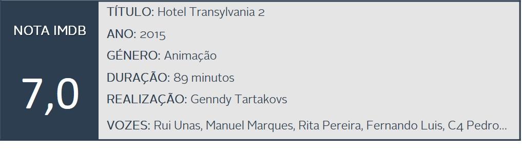 K filme - Hotel Transylvania 2