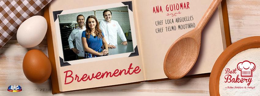 Best Bakery: Telmo Monteiro, Ana Guiomar e Luca Arguelles