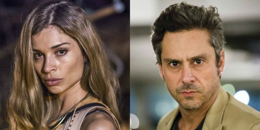 Gazzi Massafera e Alexandre Nero Emmy Internacional