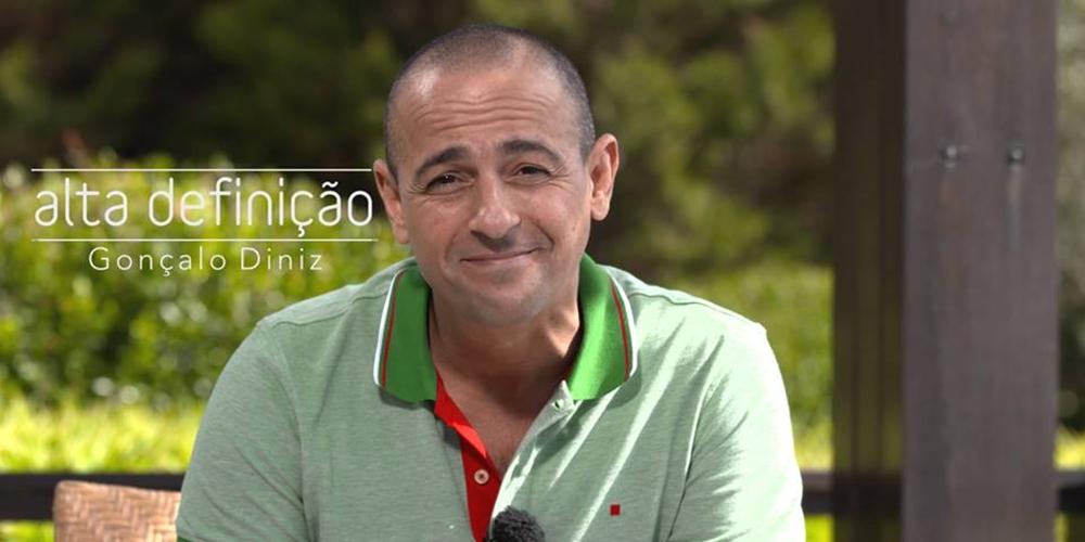 «Alta Definição» volta a entrevistar esta semana Gonçalo Diniz