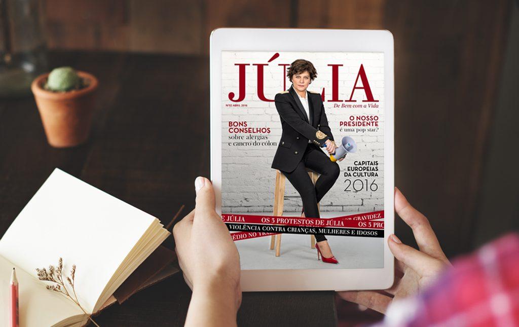 Revista digital de Júlia Pinheiro entre as melhores do mundo