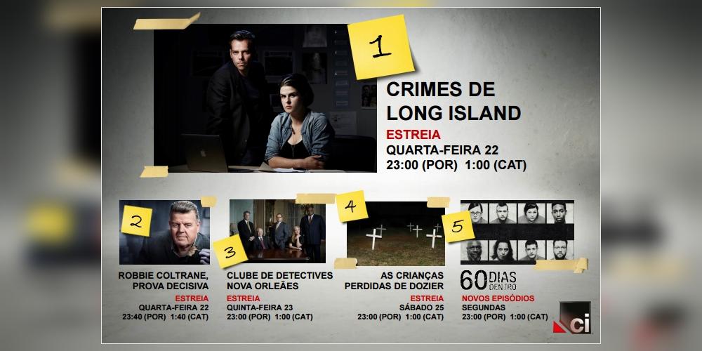 Fevereiro   O que poderá ver este mês no canal Crime + Investigation