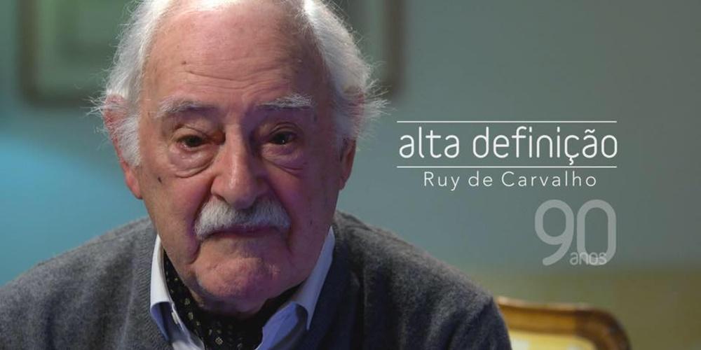 Ruy de Carvalho dá entrevista especial ao «Alta Definição»