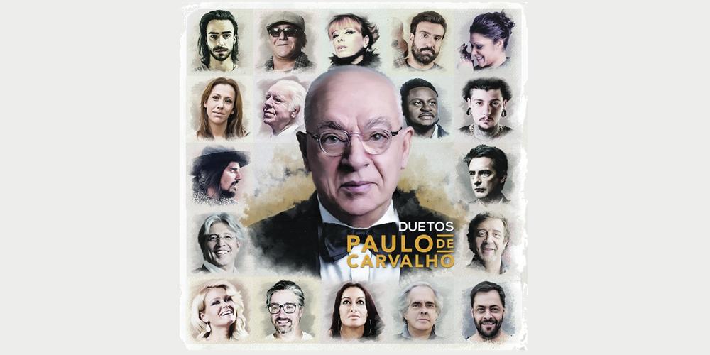 Paulo de Carvalho reedita o seu mais recente disco «Duetos»
