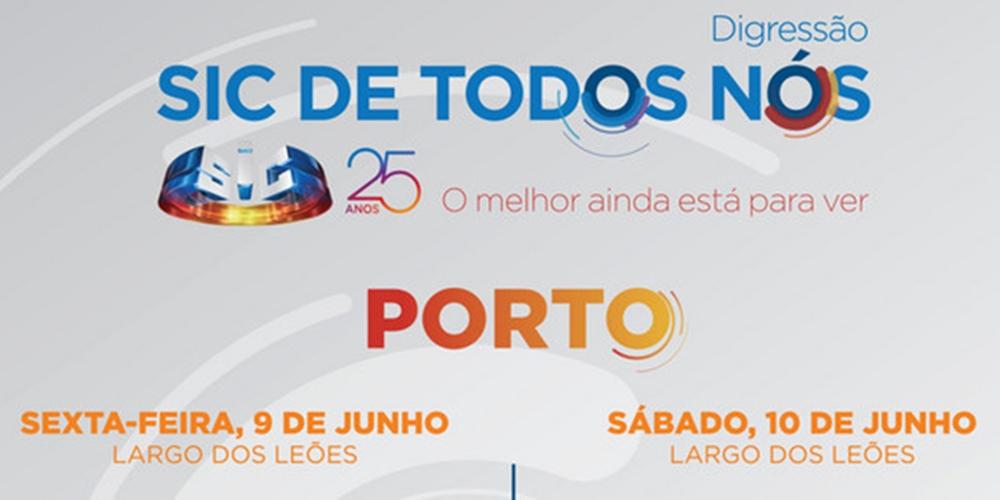 Porto: Conheça as caras que vão estar na digressão «SIC de Todos Nós»