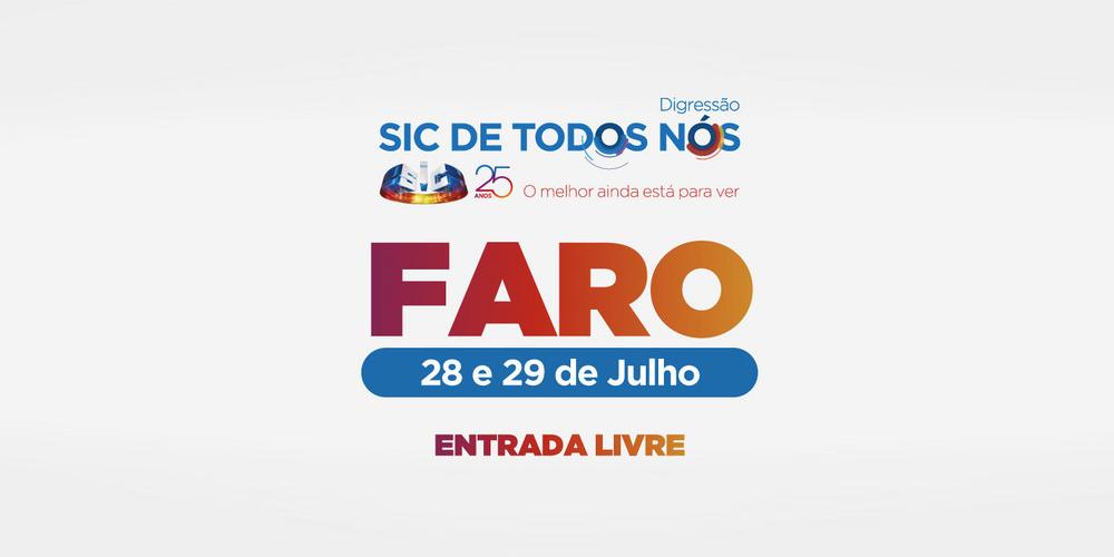 Faro: Conheça as caras que vão estar na digressão «SIC de Todos Nós»