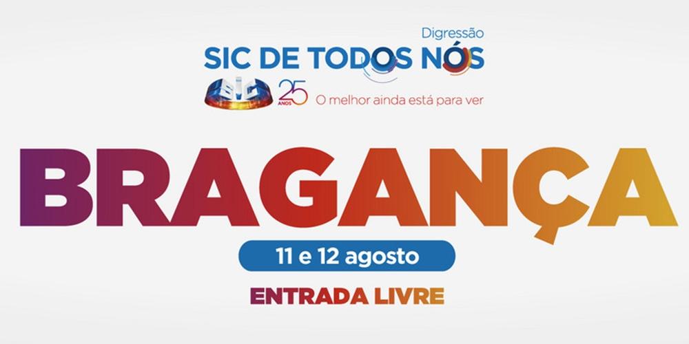 Bragança: Conheça as caras que vão estar na digressão «SIC de Todos Nós»