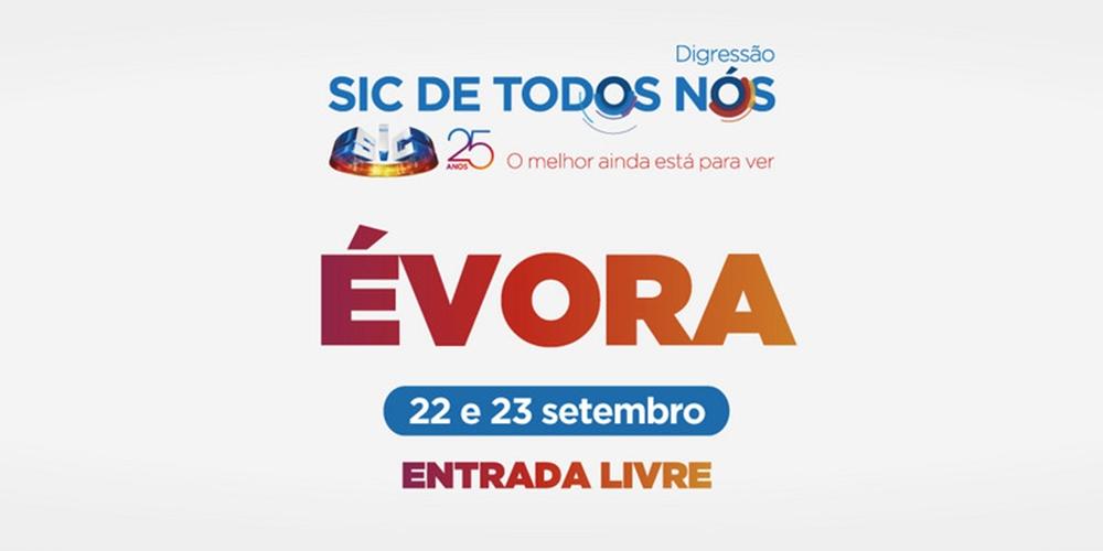 Évora: Conheça as caras que vão estar na digressão «SIC de Todos Nós»