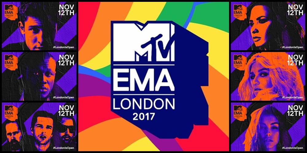 Conheça as primeiras atuações confirmadas para os «MTV EMA's 2017»