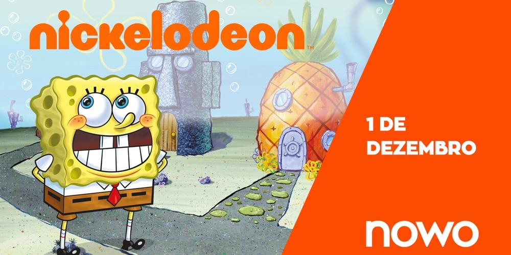 Nickelodeon passa a fazer parte da grelha de programação da NOWO